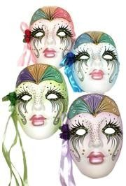 Porcelain Masks Decoration Check Out Our Selection Of Great Mardi Gras Style Ceramic And