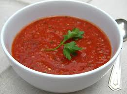 Gazpacho to go.... (no cooking required)