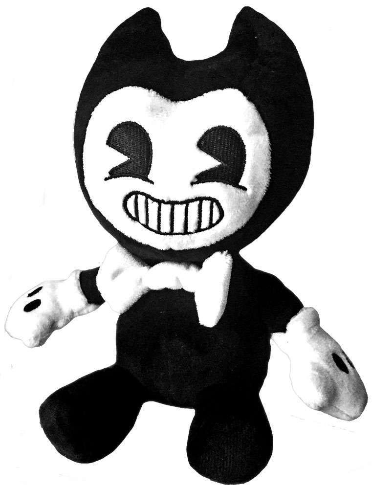 Bendy and the Ink Machine BLACKLIGHT BENDY Beanie Plush NEW With Tag Joey Drew