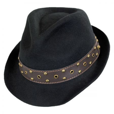 8426502f470f4 Carlos Santana Roadster Fedora Hat available at  VillageHatShop ...