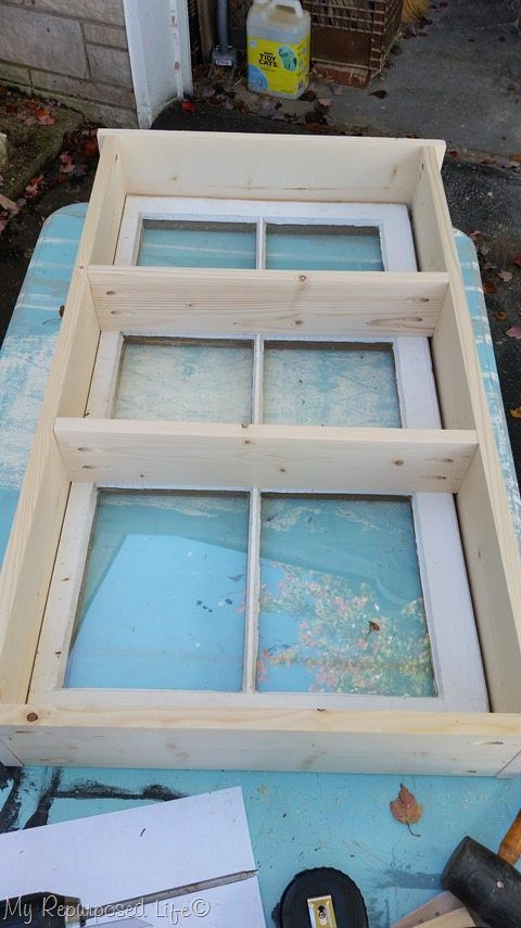 Photo of window cupboard : easy window project