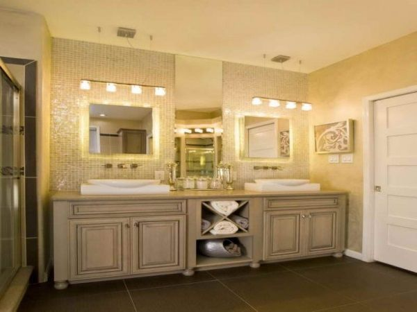 8 Light Bathroom Vanity Light | Bathroom Lighting | Pinterest ...