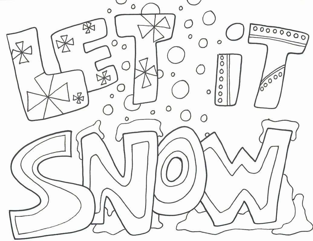 Winter Wonderland Coloring Book in 2020 | Coloring pages ...