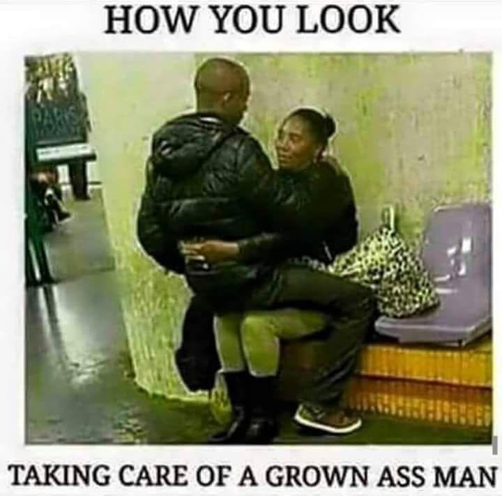 Talkin bout' he a mamma's boy....