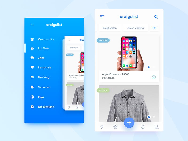 Craigslist - Mobile App