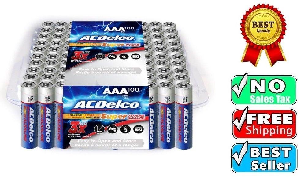 Powermax Usa Acdelco Aaa Batteries Alkaline Battery 48 Count Ac274 Alkaline Battery Acdelco Alkaline