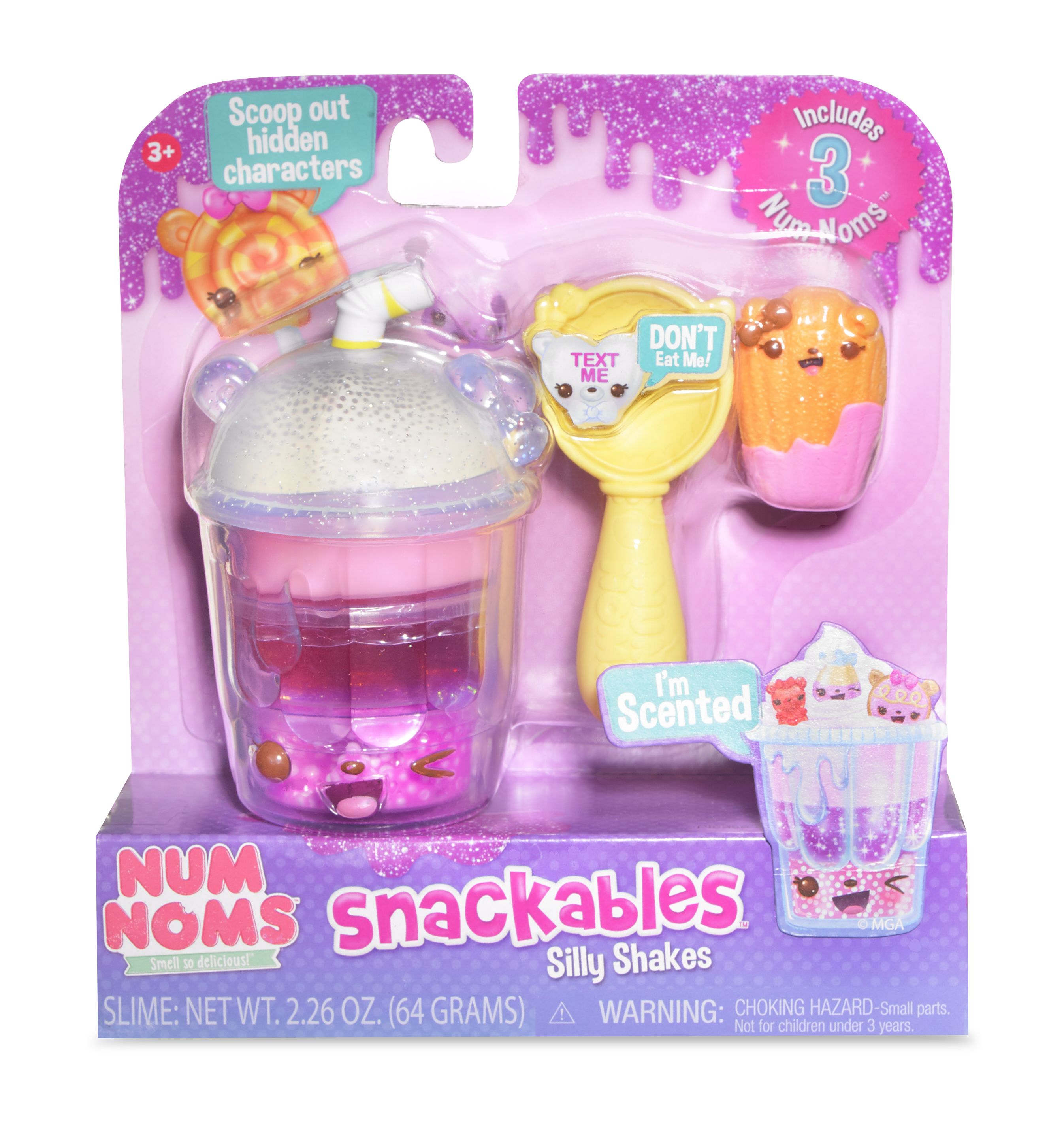 Mga Entertainment Num Noms Snackables Silly Shakes Mixed Berry