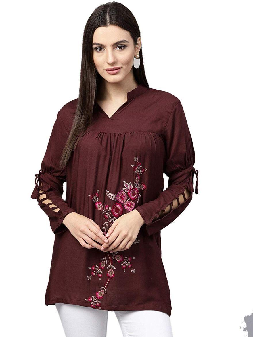 Design Trendy Women's Western Wear Top