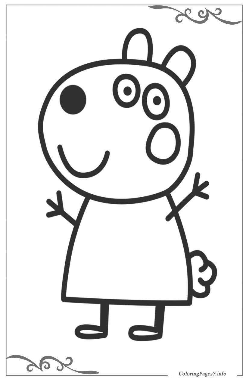 Peppa Pig Halloween Coloring Pages Coloring Book Peppa Pig Free Coloring Pages For Girls Free Kids Coloring Pages Hello Kitty Colouring Pages Kitty Coloring