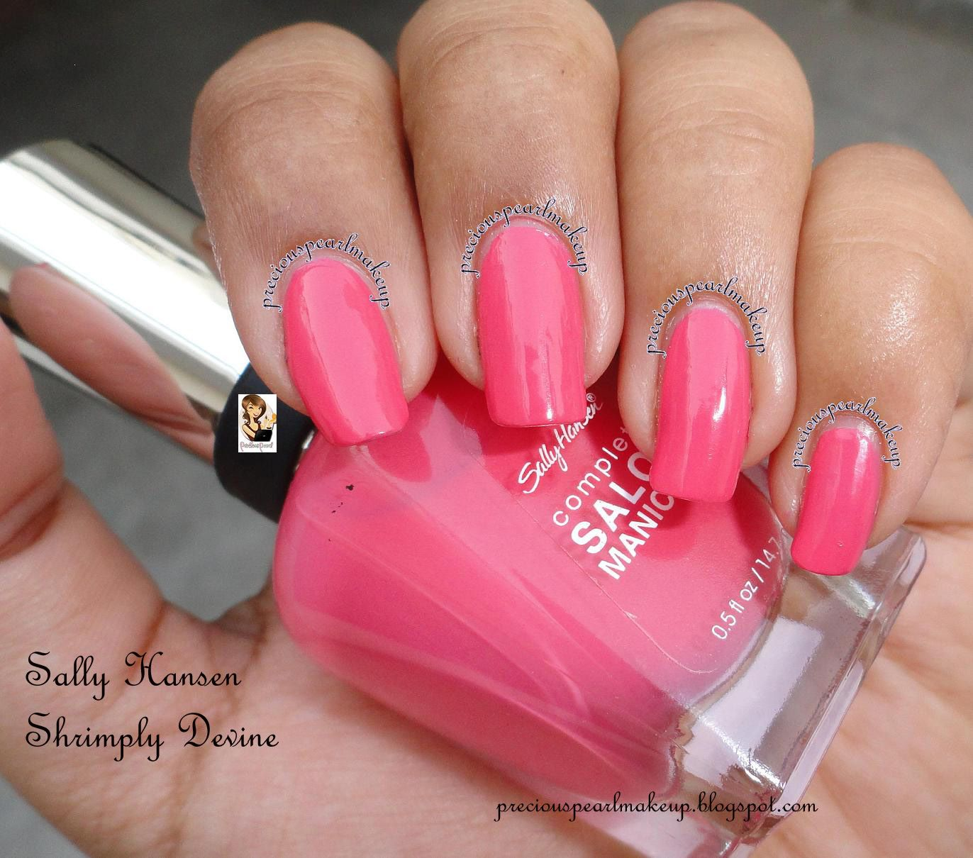 Sally Hansen Complete Salon Manicure perfectly poppy | Shrimply ...