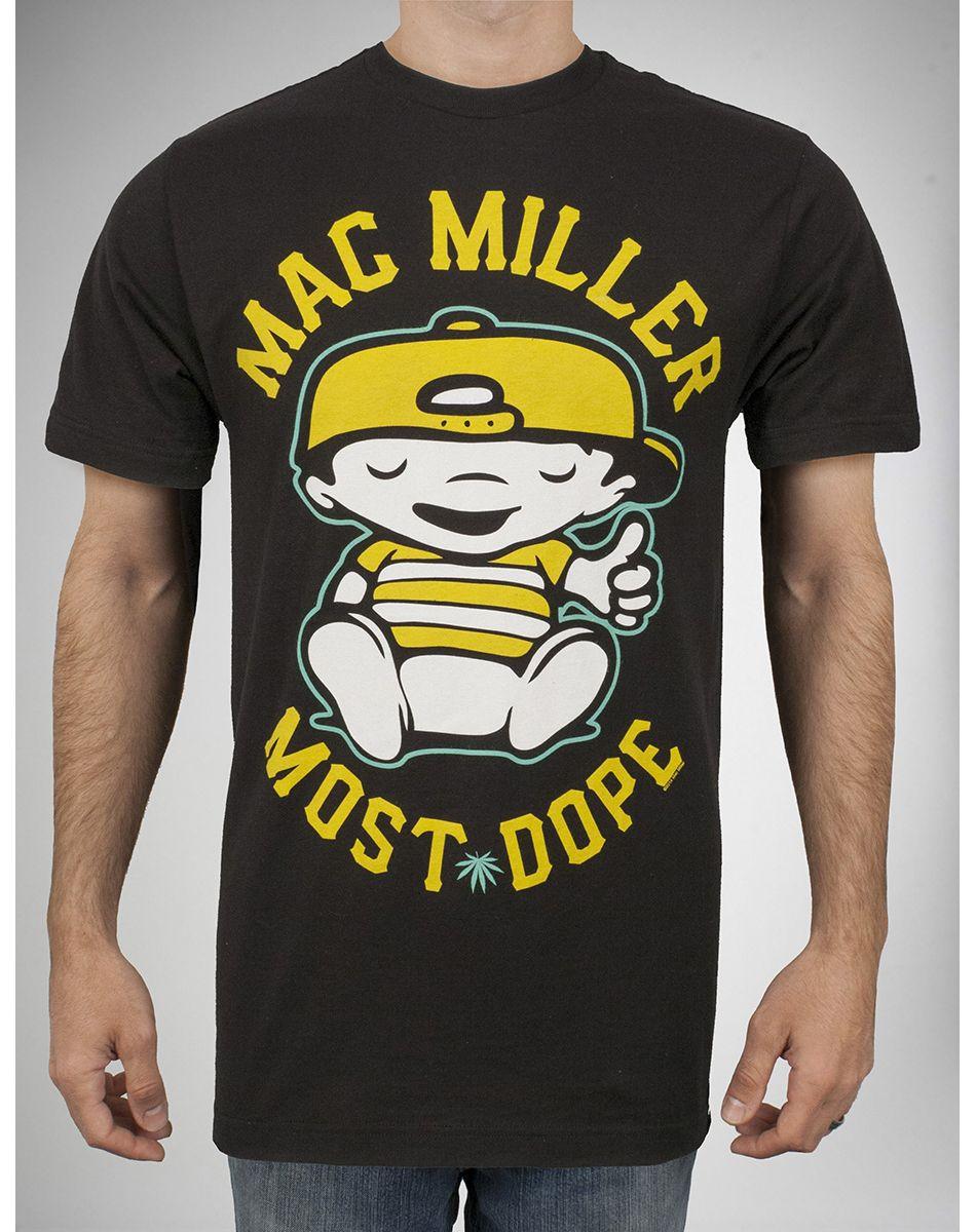 aceaaff6d Mac Miller Most Dope Baby Tee