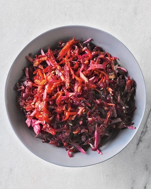 Beet, Fennel, and Carrot Salad. love all these veggies so much, especially raw fennel!