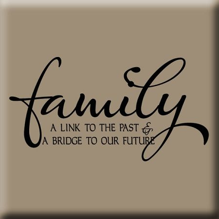 Family Reunion Quotes Fascinating Family Reunion Themes LINK TO OUR PAST WALL DECAL Reunion