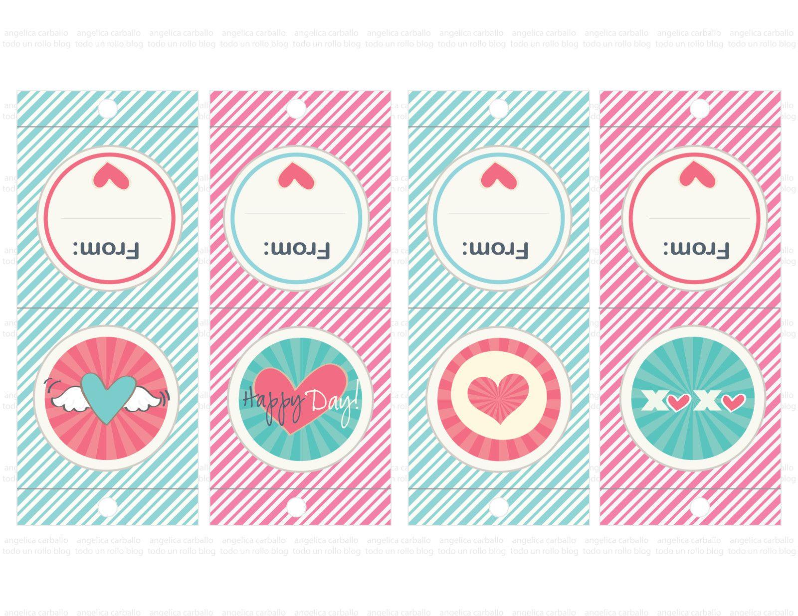 Free valentine printable for lollipop ... gratis imprimible para ...