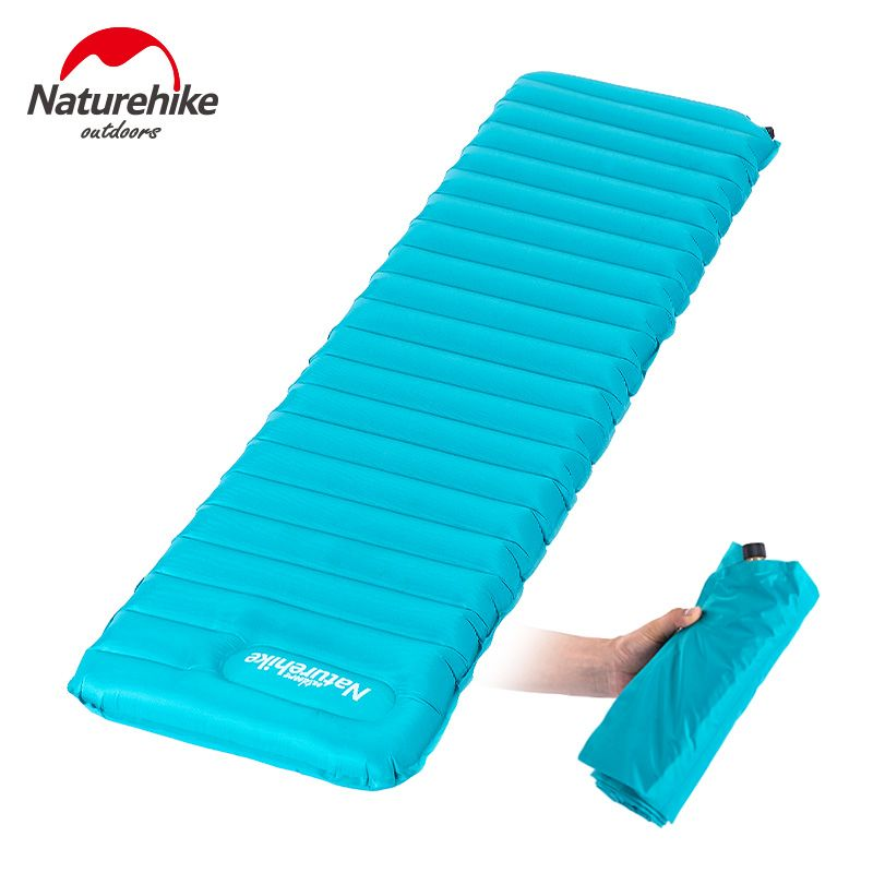 NatureHike Manually Inflatable Cushion C&ing Mat Tent Air Mattress Outdoor Moisture-proof Pad 2 Color  sc 1 st  Pinterest & NatureHike Manually Inflatable Cushion Camping Mat Tent Air ...