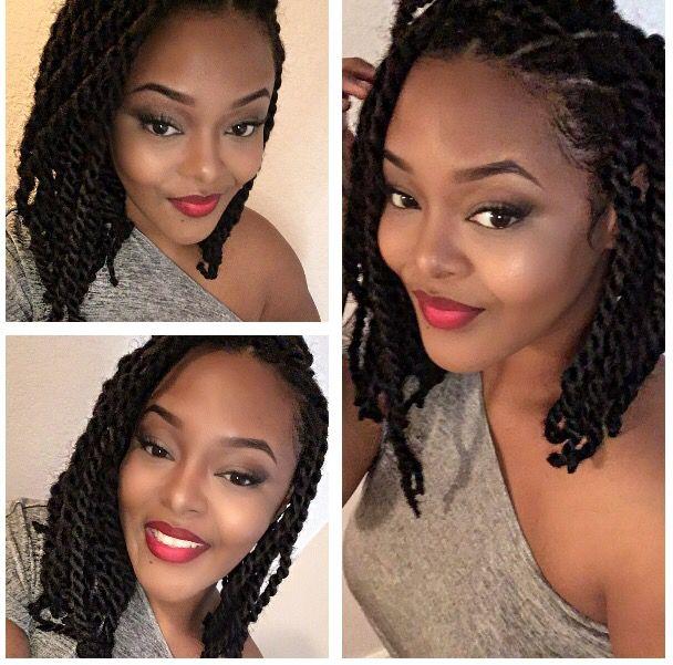 Marley Hairstyles: Marley Twist Bob … …