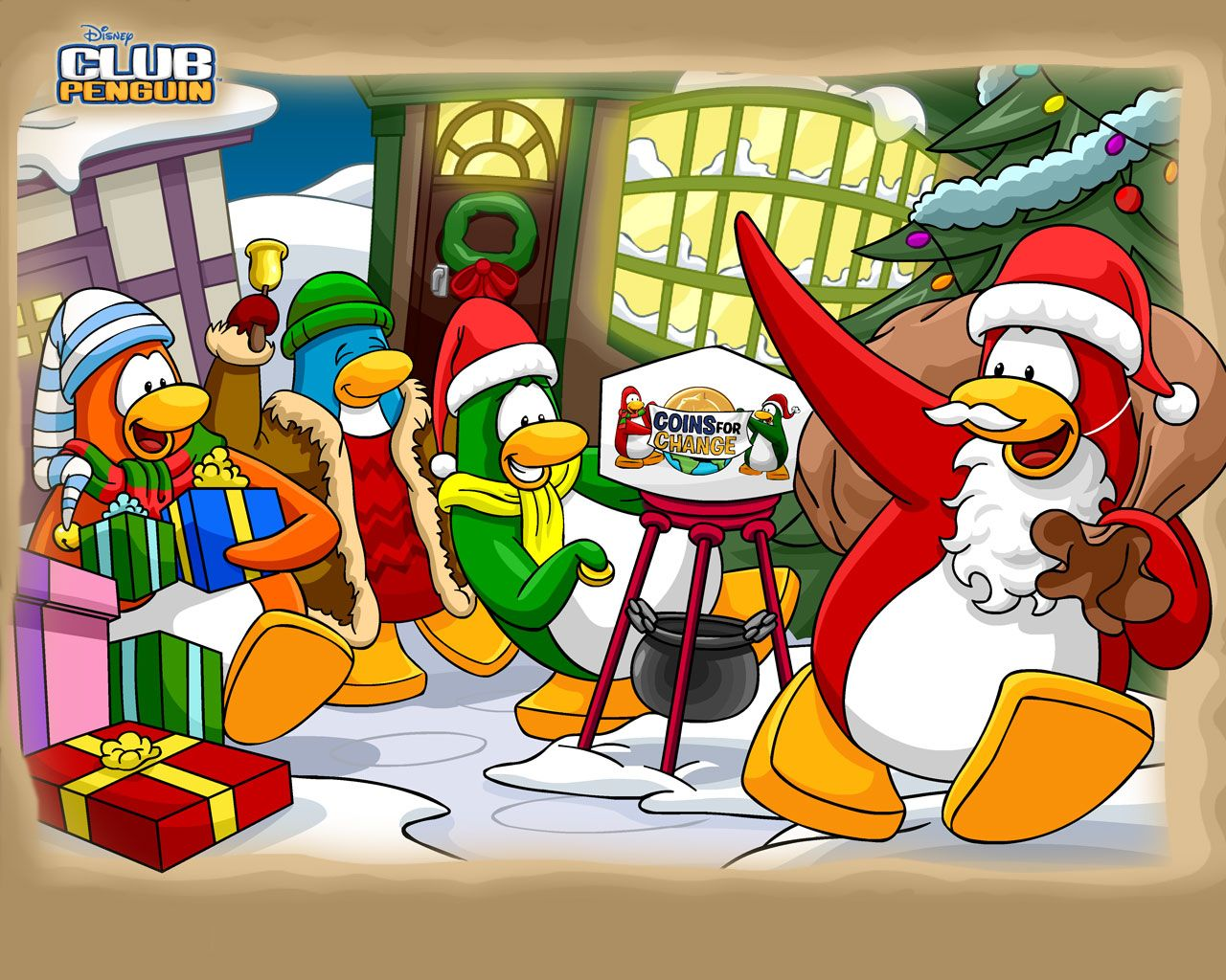 Club Penguin Christmas Wallpaper - 540 | Games ^o^\' | Pinterest