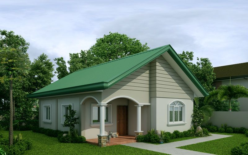 Simple Row House Design In The Philippines