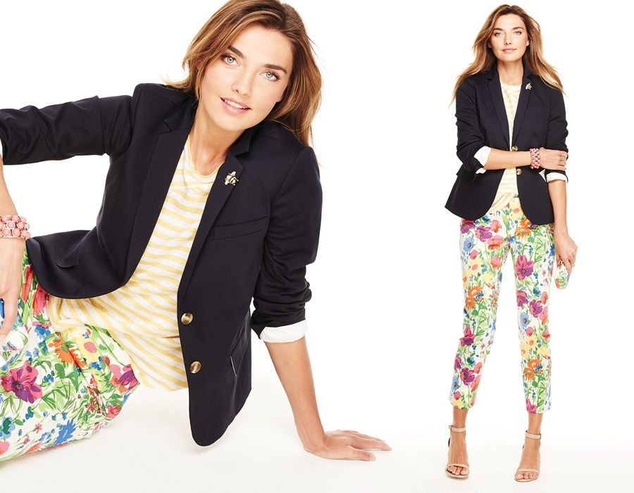 talbots Ways to wear talbots x nbcf scarf collection: the necklace 444 10 see all shop embellished cuff tweed jacket $17900 stripe lightweight blazer—shocking pink.