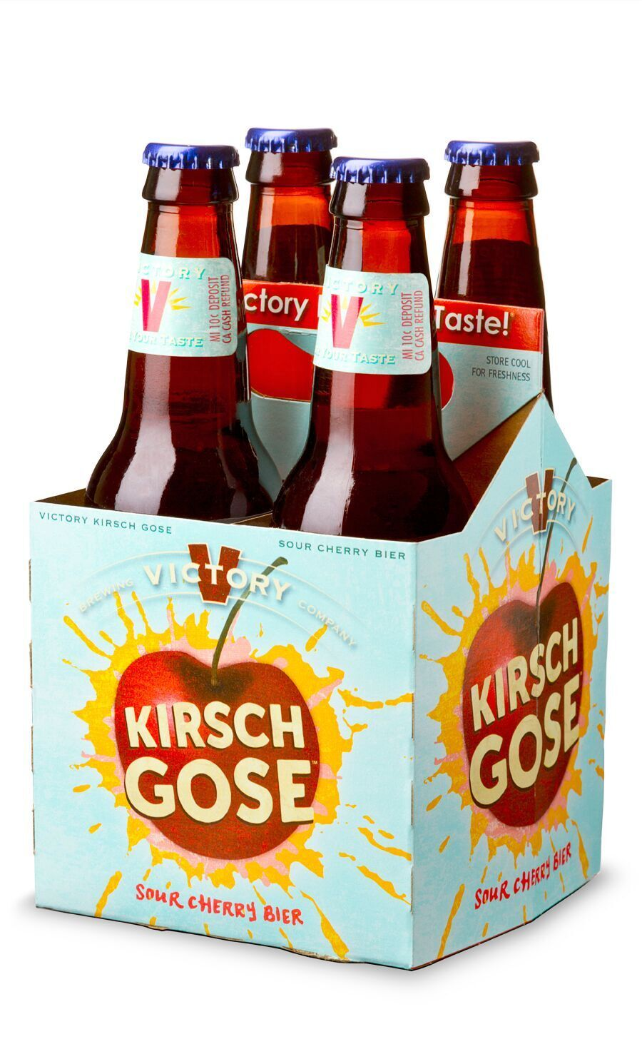 Victory Brewing S Kirsch Gose And Sour Monkey Make Return Craftbeer Beer Http Hopsaboutbeer Com Victory Brewing Brewing Co Sour Cherry