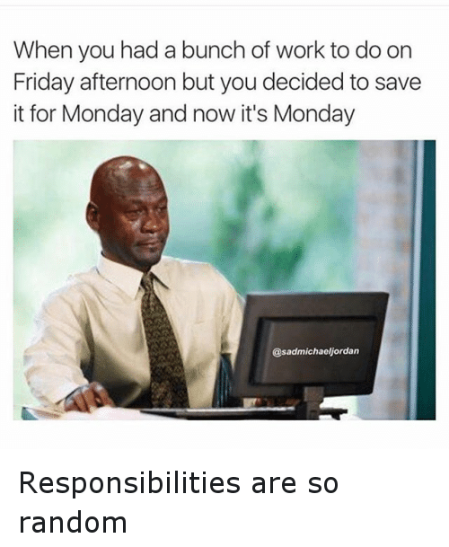Monday Funny Work Memes