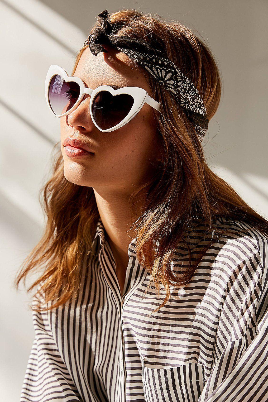 e540de6f09 Two Of Hearts Cat-Eye Sunglasses