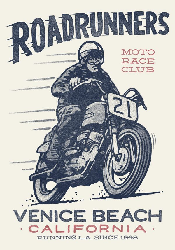 20 Cool Motorcycle Culture Hand Lettering Illustrations Vintage Motorcycle Posters Motorcycle Illustration Motorcycle Posters