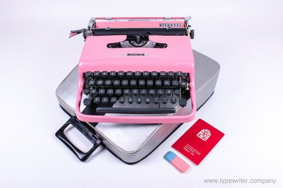 extremely rare halberg typewriter vintage working typewriter rh pinterest com au Olivetti Portable Typewriter Olivetti Lettera Typewriter