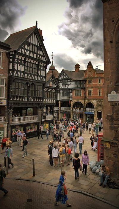 Northgate Street, Chester, England (by Mark Carline on Flickr)