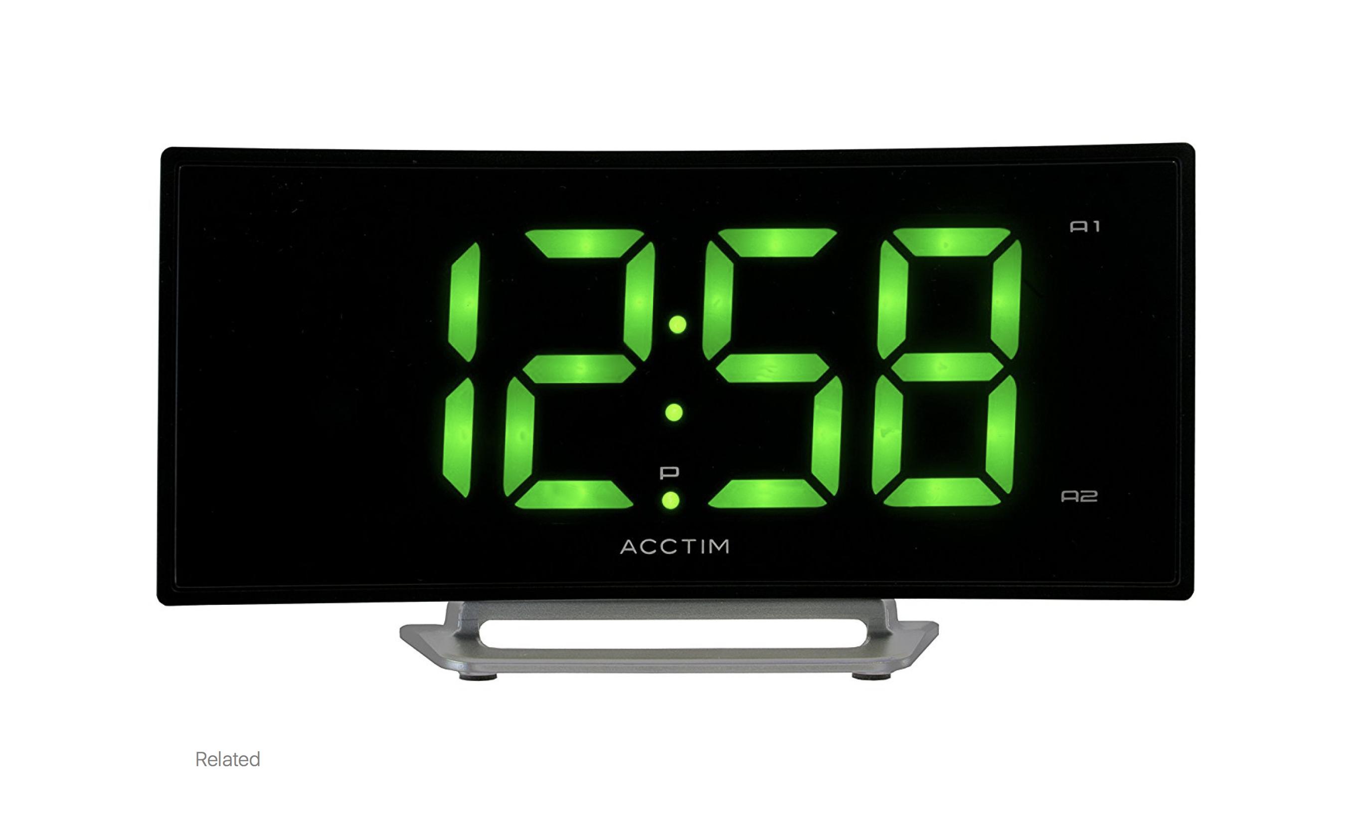 Acctim Sierra Alarm Clock 15003 37