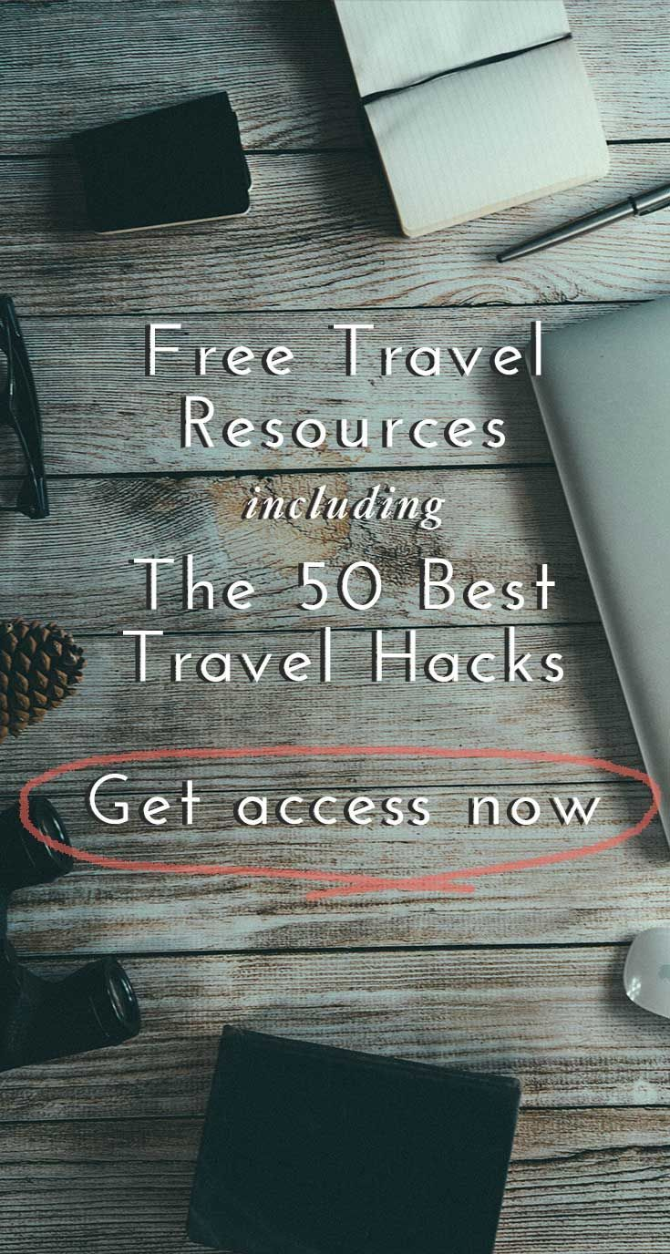 Looking for the best tips, tricks and travel hacks? Click through to access a full library of free travel resources to help you plan your next vacation and save money on your travels. Join 23k other subscribers and get immediate access to the list of the 50 Best Travel Tips (and some you probably haven't heard before. Click through to join now!