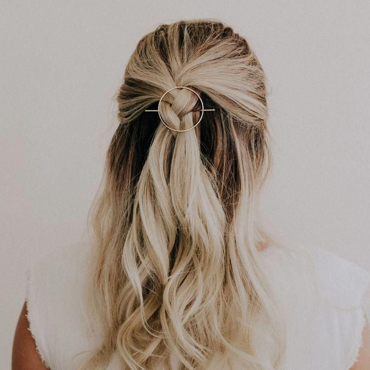 Mini Orbital Hair Pin for Wavy + Straight Hair — Favor Jewelry