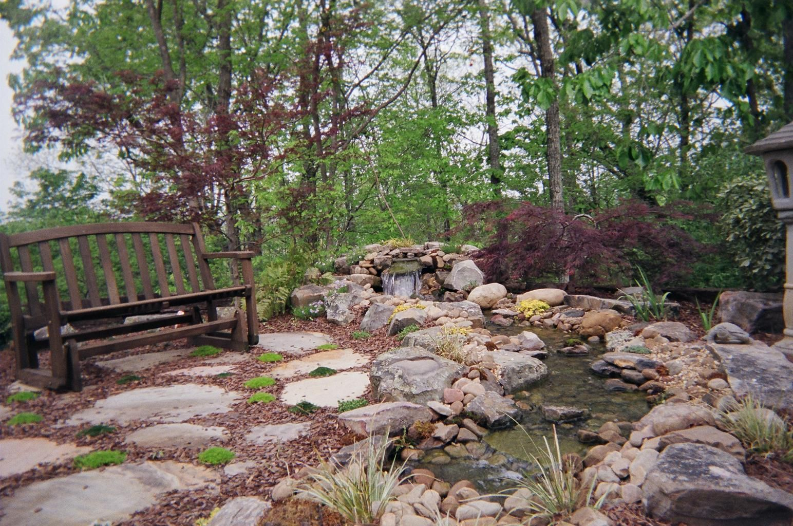 Water Feature, Rock Work And Landscape Design By Andyu0027s Landscape Service  In Birmingham, AL