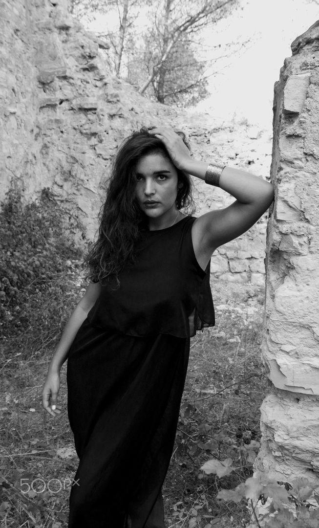 Black Dress Girl - Leila aka The Girl with The Black Dress