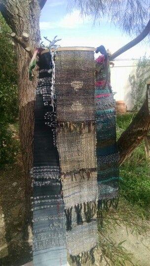 Petroglyph SAORI scarf