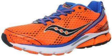 Running shoes, Orange shoes