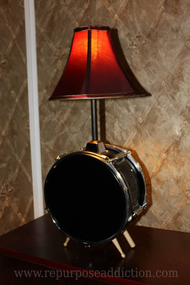 Tripod Table Lamp Bedroom