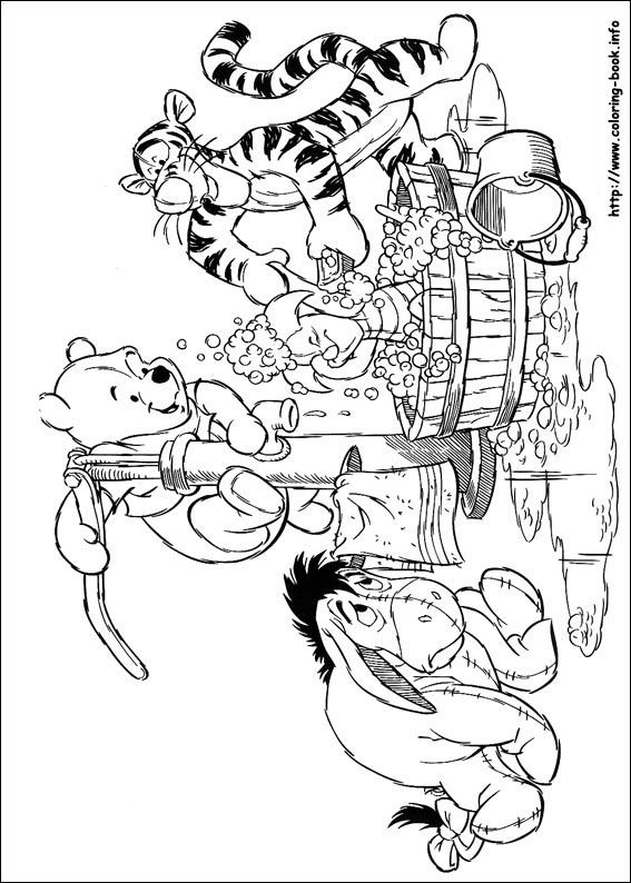 Winnie the pooh coloring picture winnie the pooh pinterest coloriage winnie coloriage and - Winnie coloriage ...