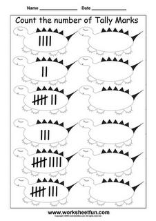 Tally Marks Worksheet | Printable Worksheets | Pinterest | Tally ...