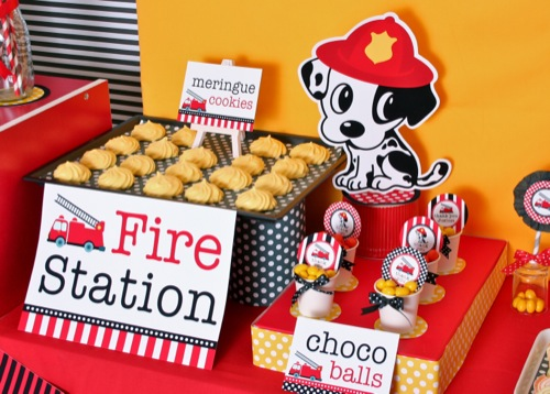 45 Disney Movie Inspired Kid Parties wow Tip Junkie – Firefighter Party Invitations