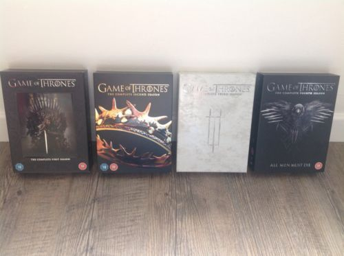 Game of #thrones. seasons 1-4, #excellent #condition,  View more on the LINK: http://www.zeppy.io/product/gb/2/291869432448/