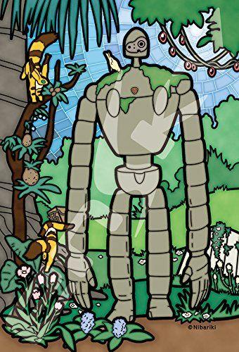 Art Crystal Jigsaw Puzzle - Laputa Castle in the Sky Kuuchuu Teien no Mamorite Robot Soldier 126 pcs Pieces Studio Ghibli Movie Sankei Animation Film Hayao Miyazaki Ensky ensky http://www.amazon.com/dp/B01AWBF86M/ref=cm_sw_r_pi_dp_r158wb05NQ60J