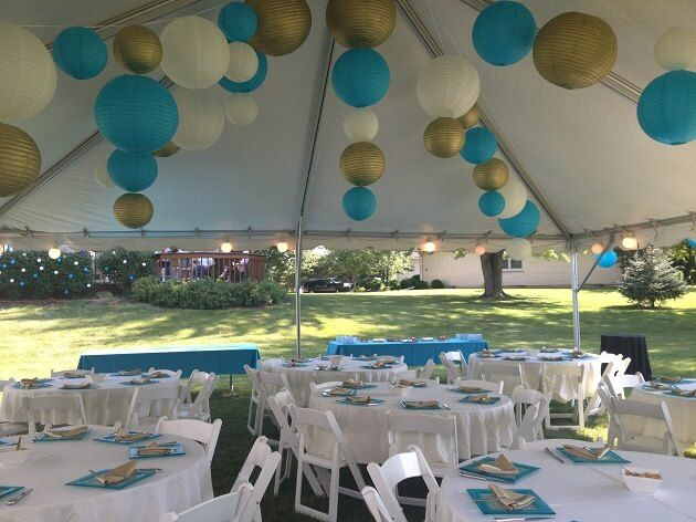 Explore Baby Shower Venues, Baby Shower Parties, and more! Outdoor Tent  Party - Outdoor Tent Party Unique Locale For A Baby Shower