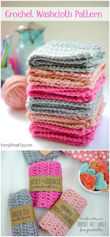Crochet Dishcloth PatternTo Beautify Your Kitchen   Crochet ...