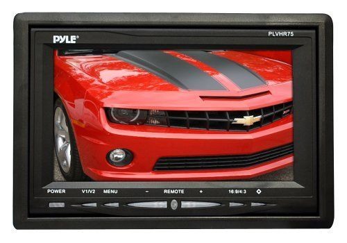 Pyle Plvhr75 7 Inch Tft Widescreen Headrest Monitor By Pyle 56 90 From The Manufacturer 7 Widesc Car Audio Kids Entertainment Wide Screen