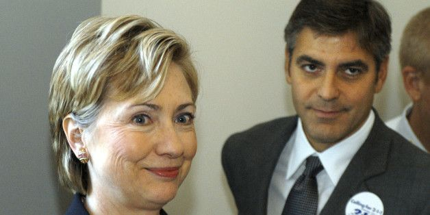 Clinton and Clooney Raise Funds for the 'Revolution'; Sanders Attacks Them