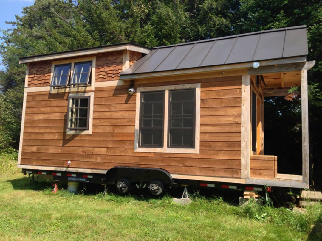 12 Amazing Tiny House Design Ideas For Your Comfortable Life Tiny House Trailer Tiny House Trailer Plans Tiny House Exterior