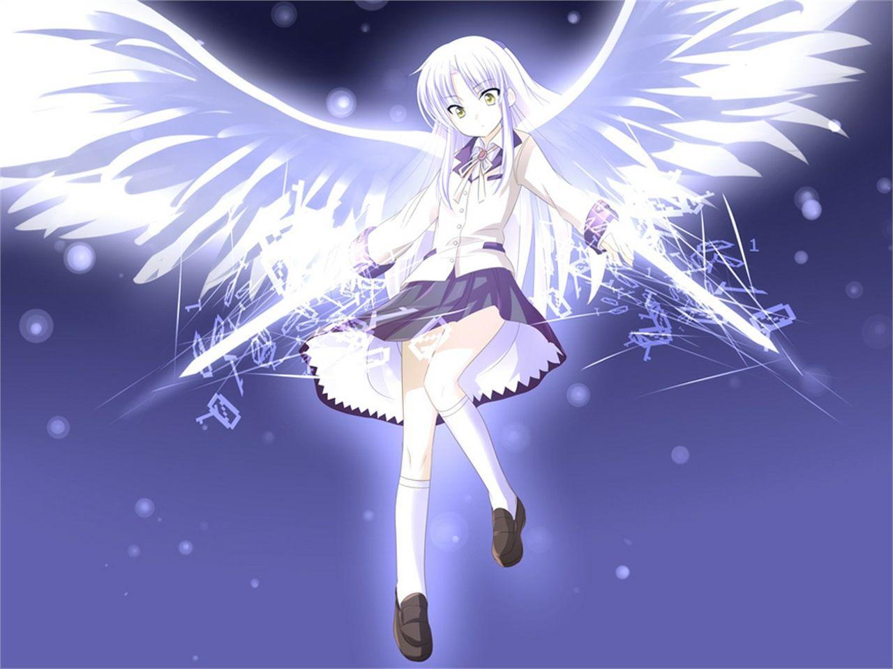 Angel Beats Angel Angel Beats Anime Angel Gambar Karakter Angel beats anime wallpaper