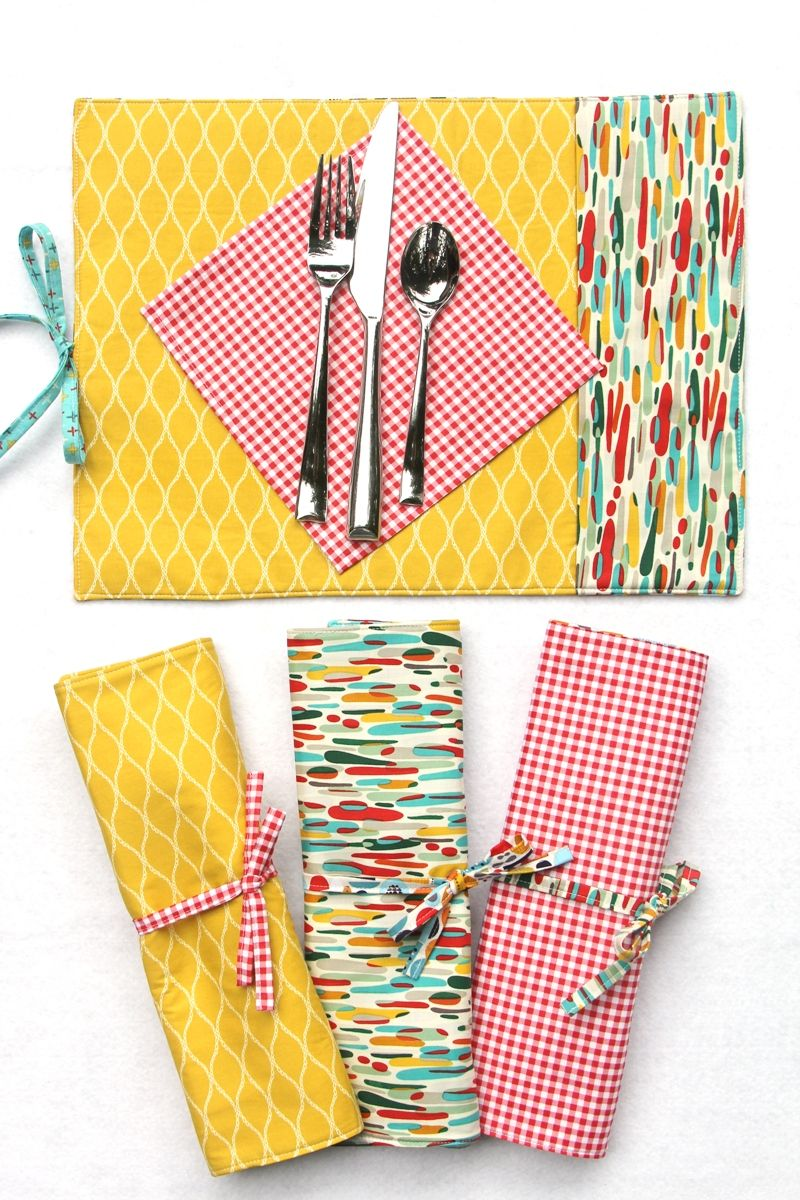 Easy To Sew Re Usable Diy Placemats For Work Or Play A Free