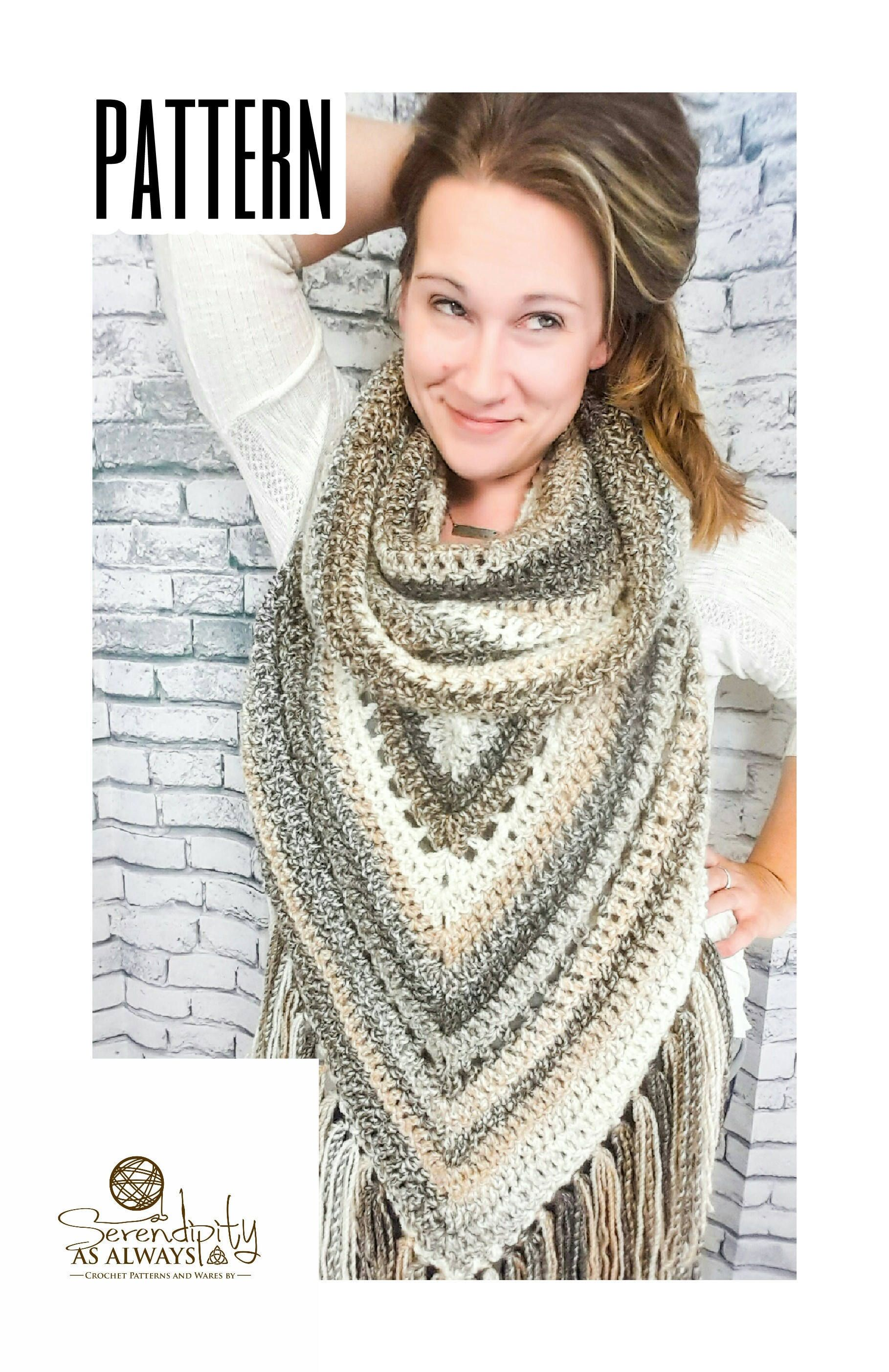 Hooded Scarf Pattern Custom Decoration